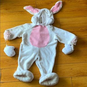 Plush and Furry Bunny Onesie 12-24 months